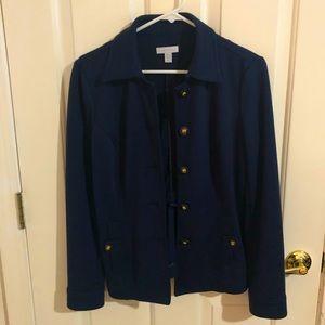 Charter Club blazer, navy blue, size small
